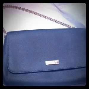 New Kate Spade leather clutch